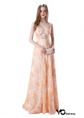Votidress Women's Long Satin Prom Dress A Line Open Back Evening Dress