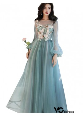 Votidress Long Prom Evening Long sleeves Dress