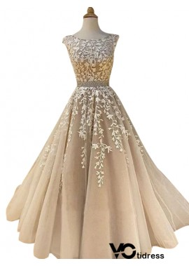Votidress Sleeveless Long Prom Evening Dress