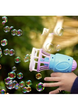 Electric Fan Bubble Machine 15.6*13.6*6.8CM