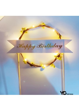 Birthday Wreath Headband 14CM