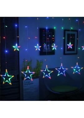 Hot Sale LED Star Curtain Light 2.5M