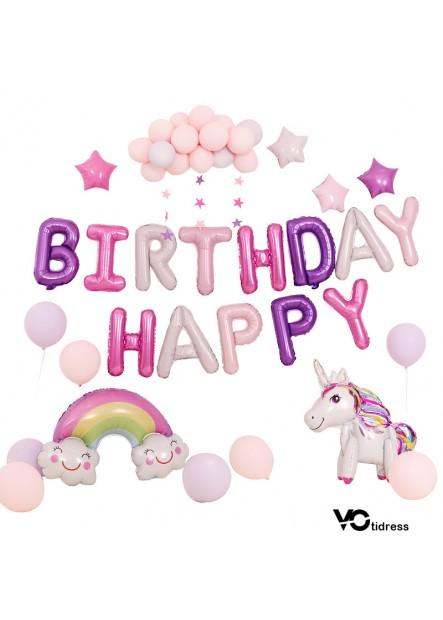 Birthday Party Decoration Unicorn Birthday Balloon Set  Unicorn Balloons Birthday Party Decoration