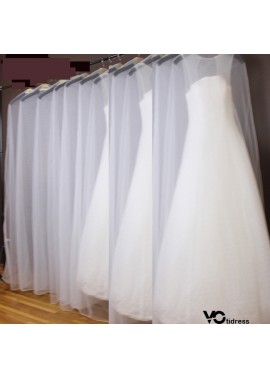 3PCS Wedding Dust Cover To Increase The Lengthened Tail