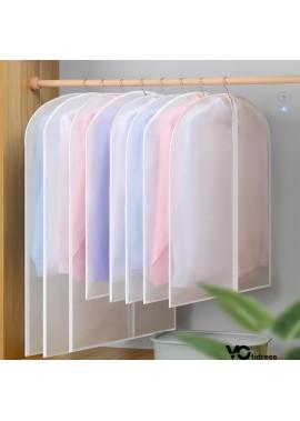 5PCS Large Clothes Dust Bag Coat Transparent Waterproof 60*120CM