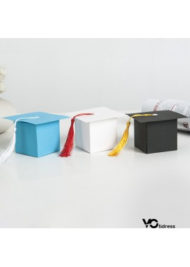 50PCS European Style Doctor Hat Packaging Gift Box