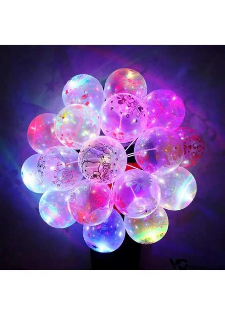 100PCS 12 Inchs Lighted Balloon Random Mix