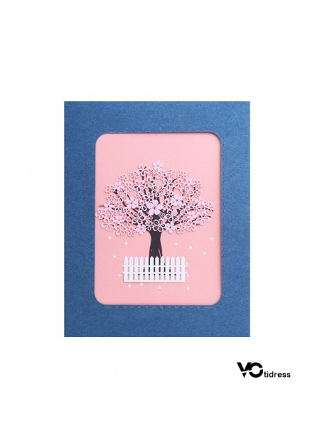 3D Stereo Greeting Card Handmade Card