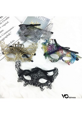 Lace Mask Funny Halloween Party Mask