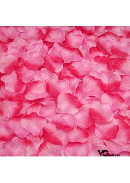 1000 Pcs Artificial Silk Rose Petals Decoration Wedding Party