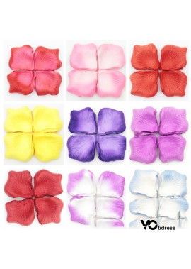 1000pcs Wedding Decoration Supplies Scene Props Festive Rose Wedding Petals