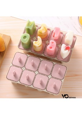 5PCS Household Ice Box Frozen Popsicle Mould 18.5*10.6*7CM