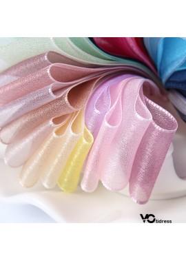 Flower Net Snow Yarn Ribbon 6MM