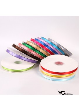 5 Rolls Of Wedding Ribbons With Ribbons