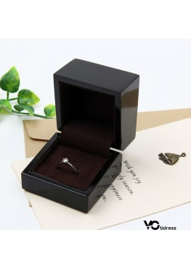 Wooden Jewelry Packing Box Length 6CM Width 6CM Height 5CM