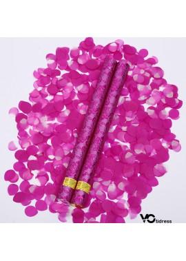10pcs Wedding Knot Wedding Biodegradable Confetti Cannon 60CM