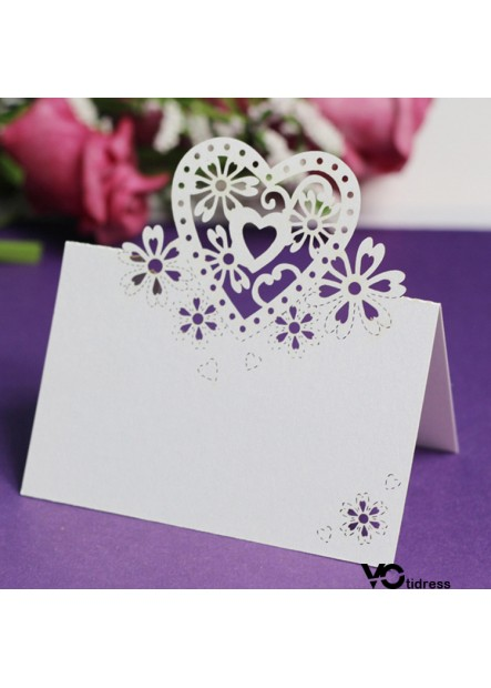 100PCS 9x12CM Wedding Supplies Wedding Seat Card