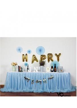 Dessert Tablecloth Wedding Set Table Yarn Table Skirt
