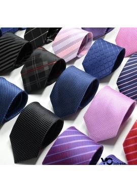 5PCS New Spot Business Solid Color Stripes 8CM Wide And 145CM Long