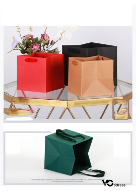 10PCS Tote Bags for Potted Fruit Gift Packaging 9*9*9CM