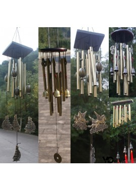 Rust-Proof Wind Chime Copper Alloy Oversized Ornament Wind Chime Diameter: 13CM Height: 85CM Tube Length: 20CM