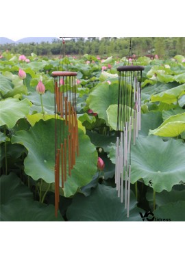 18 Frosted Pipe Wind Chimes With A Total Length Of 90CM