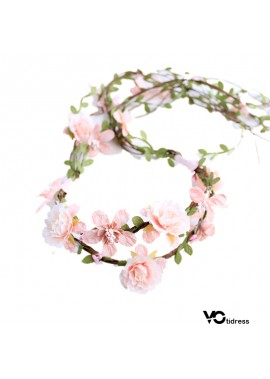 Wearing Garland Headdress Jewelry Party Decoration Wreath
