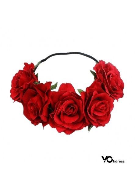 Carnival Party Headdress Woman Wreath