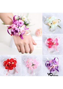 Artificial Fabric Pearl Wrist Flower