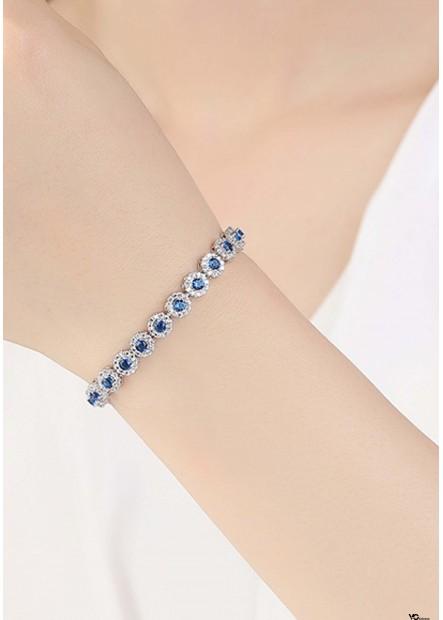 Blue Scale Bracelets