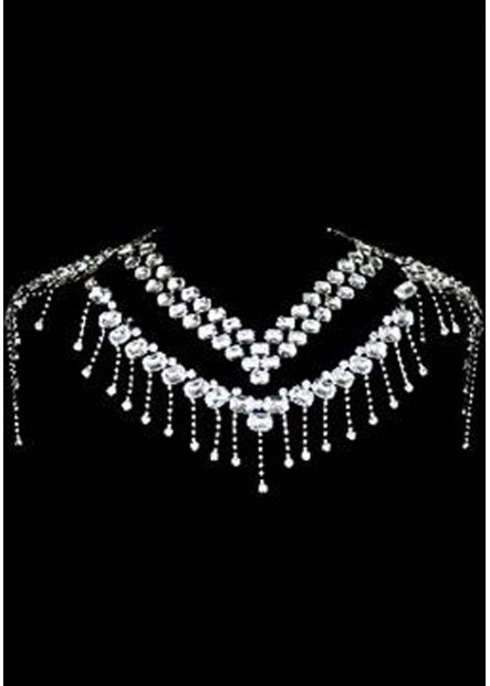 Elegant Rhinestone Shoulder Chains