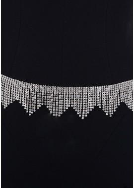 Alloy Full Diamond Waist Chains