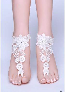 Bride's Simple Anklets