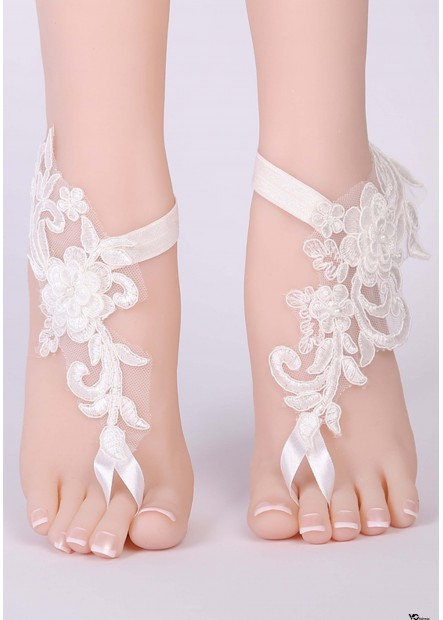 European And American Lace Anklets