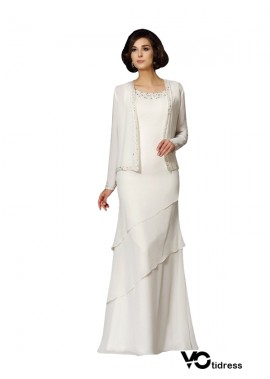 Votidress White Mother Of The Bride Dress With Outfit