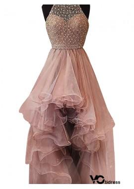 Votidress High Low Long Prom Evening Dress