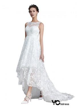 Votidress 2021 Beach Short Lace Wedding Dresses
