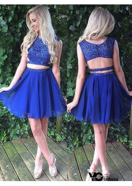 Votidress 2 Piece Homecoming Dress