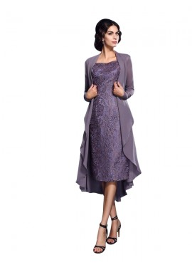 Votidress mother of the bride dress with jacket