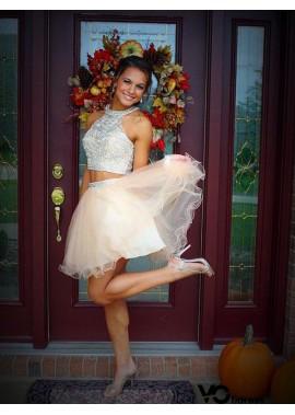 Votidress 2 Piece Short Homecoming Prom Evening Dress