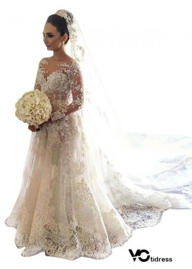 Votidress 2021 Lace Wedding Dress