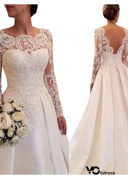 Votidress 2021 Lace Wedding Dress