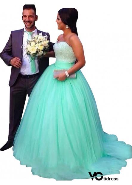 Votidress Plus Size Prom Evening Dress