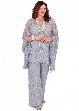Votidress Plus Size Mother Of The Bride Dress / Three Piece Pantsuit