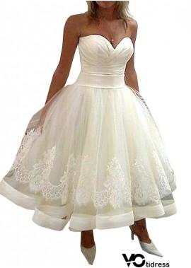 Votidress Short Plus Size Wedding Dress