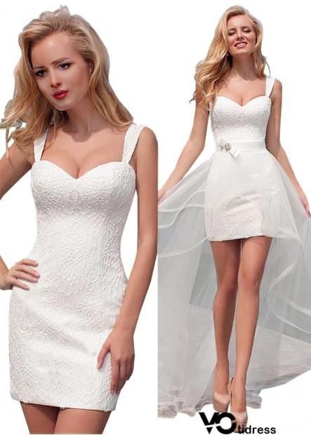 Votidress Alternative Beach Short Wedding Dresses