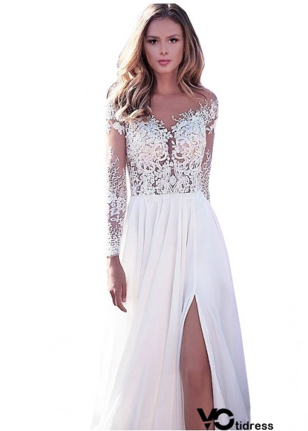 2021 Unusual Blush Cheap Beach Long Sleeve Wedding Dresses