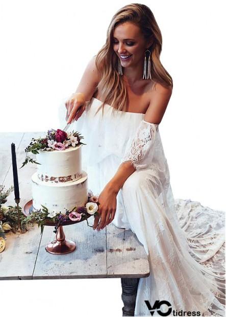 Buy Votidress Beach Wedding Dresses