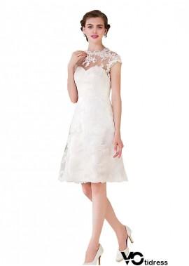 Votidress Short Wedding Dress