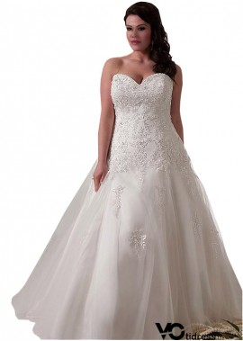 Votidress Plus Size Wedding Dress
